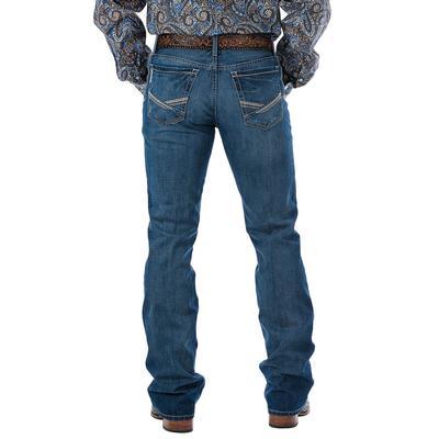 Cinch Men's Slim Fit Ian Dark Stonewash Jean