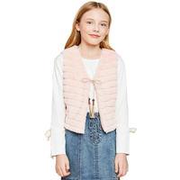 Hayden Girl's Fur Vest