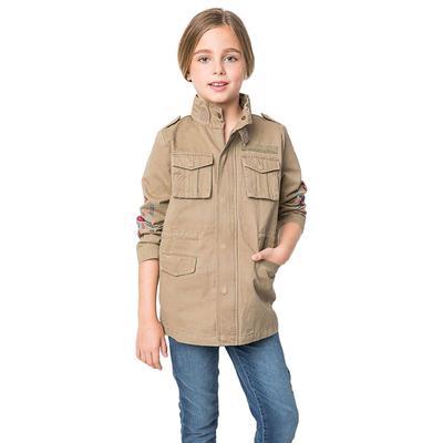 Hayden Girl's Embroidered Cargo Jacket
