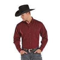 Panhandle Slim Men's Long Sleeve Solid Button Shirt