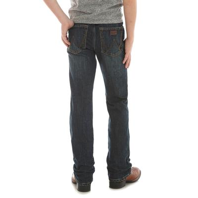 Wrangler Boy's Oldham Retro Slim Straight Jean
