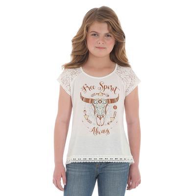 Wrangler Girl's Free Spirit Top