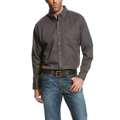 Ariat Men's FR Gray Waco Work Shirt