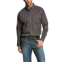Ariat Men's FR Gray Waco Work Shirt