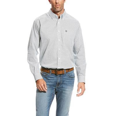 Ariat Men's White Wrinkle Free Upman Shirt