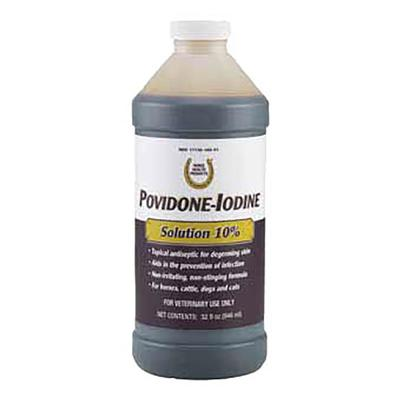 Farnam Povidone Iodine Solution 10%, 32 oz. container