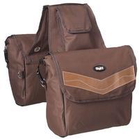 Tough-1 Insulated Saddle Bag, Brown