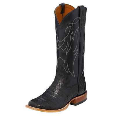 Tony Lama Women's Black Caiman Boots