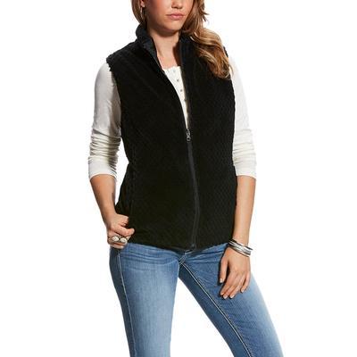 Ariat Women's Black Hallstatt Reversible Vest
