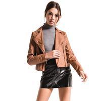 Black Swan Women's Leather Moto Jacket