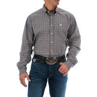 Cinch Men's Gray Glen Plaid Shirt