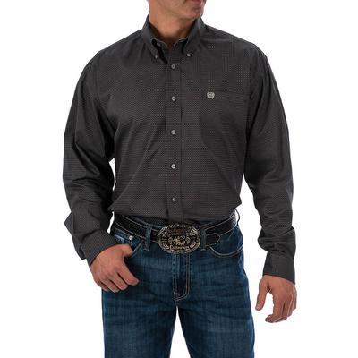 Cinch Men's Gray Print Shirt