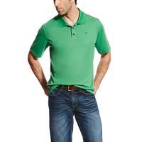 Ariat Men's Green Tek Polo