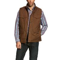 Ariat Men's Waggoner Canvas Vest