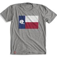 Tumbleweed Texstyles Men's Football Texas Flag T-Shirt