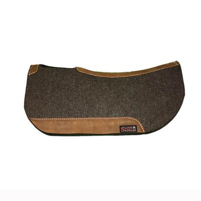 Tod Slone Round Contoured Wool Saddle Pad 1/2