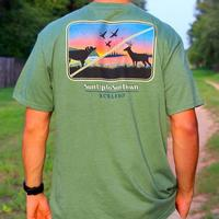 Burlebo Men's Sun Up to Sun Down T-Shirt