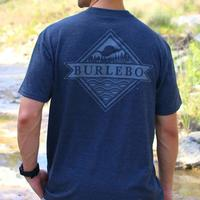 Burlebo Men's Heathered Signature Logo T-Shirt