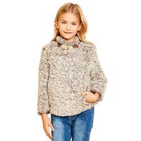 Hayden Girl's Fleece Pullover Sweater