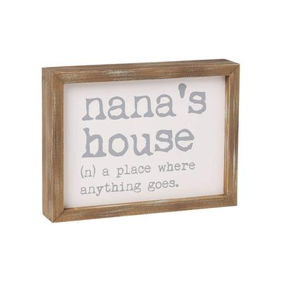 Nana's House Framed Sign