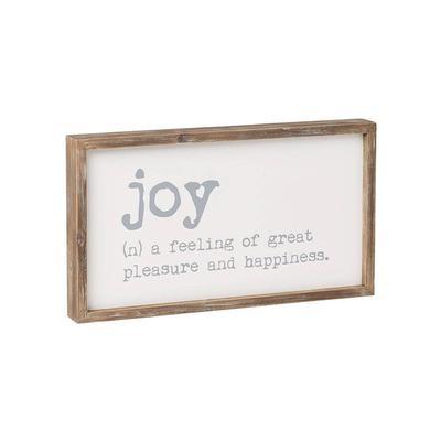 Joy Framed Sign