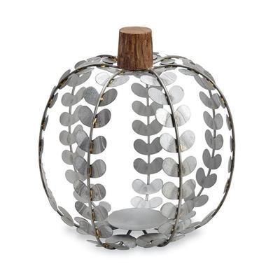 Mud Pie's Large Tin Pumpkin Lantern