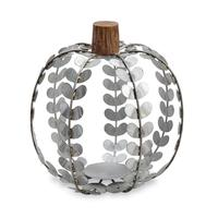 Mud Pie's Large Tin Pumpkin Lantern