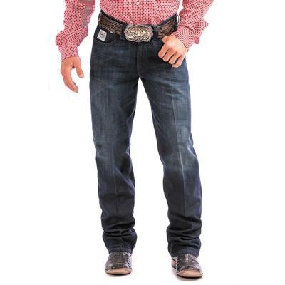 Cinch Men's White Label Relaxed Fit Dark Wash Jean