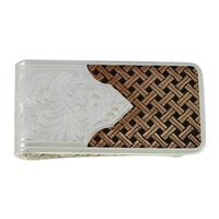 Montana Silversmith's Classic Legacy Weave Money Clip