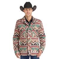 Powder River Men's Aztec Wool Jacket