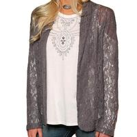 Cruel Girl Women's Lace Blazer