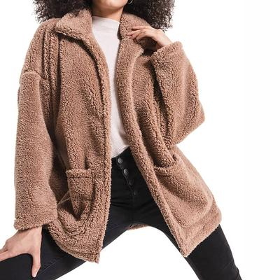 Z Supply Women's Sherpa Teddy Bear Coat
