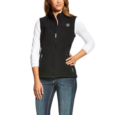Ariat Women's Black New Team Softshell Vest