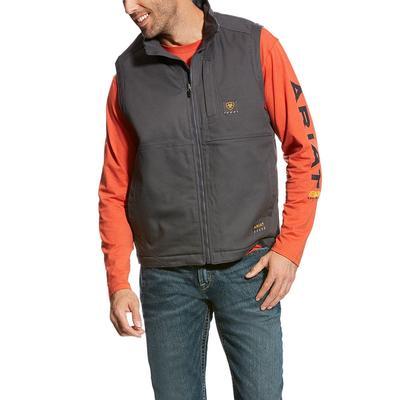 Ariat Men's Gray Rebar Duracanvas Vest