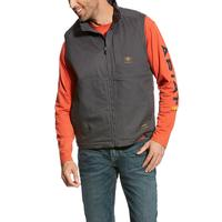 Ariat Men's Gray Rebar DuraCanvas Vest