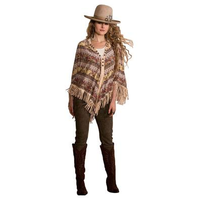 Double D Ranchwear Women's Spice Trade Poncho