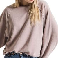 Z Supply Women's Argo Oversized Fleece Pullover