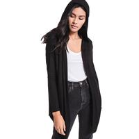 Z Supply Women's Marled Hooded Longline Cardigan
