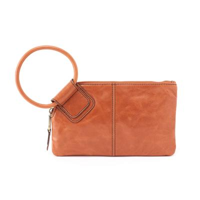 Hobo Sable Vintage Hide Clutch - Clay