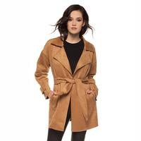 Black Tape Women's Suede Jacket