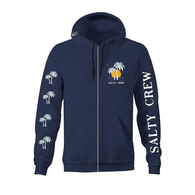 Salty Crew Men's Twin Palms Fleece Jacket