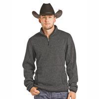 Powder River Men's Quarter Zip Fleece Pullover
