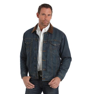 Wrangler Men's Concealed Carry Denim Jacket
