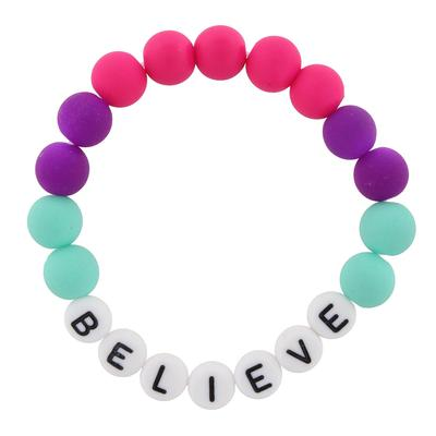 Jane Marie Kid's All About Me Too Bracelet BELIEVE