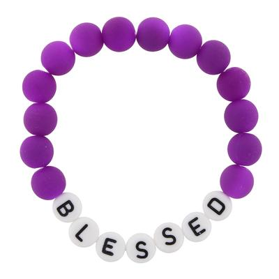 Jane Marie Kid's All About Me Too Bracelet BLESSED