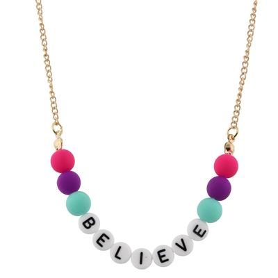 Jane Marie Kid's All About Me Too Necklace BELIEVE