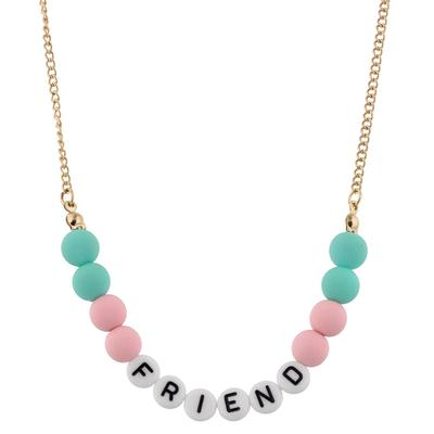 Jane Marie Kid's All About Me Too Necklace FRIEND
