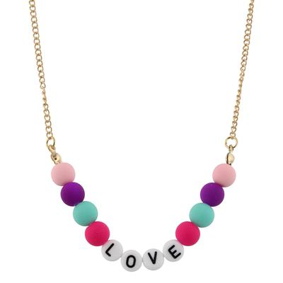 Jane Marie Kid's All About Me Too Necklace LOVE