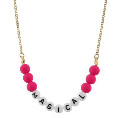 Jane Marie Kid's All About Me Too Necklace MAGICAL