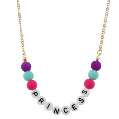 Jane Marie Kid's All About Me Too Necklace PRINCESS